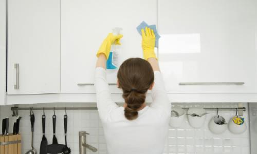 hardnekkig vet verwijderen keuken feat